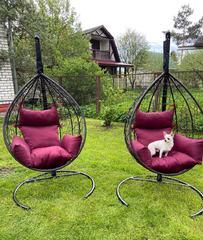 Фото отзыва о товаре Подвесное кресло-кокон SEVILLA белое + каркас