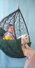 Фото отзыва о товаре Подвесное кресло-кокон SEVILLA черное + каркас