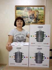 Фото отзыва о товаре Соковарка из нержавейки LAURA на 8 л Juicedo L