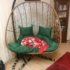 Фото отзыва о товаре Подвесное кресло-кокон SEVILLA TWIN горячий шоколад + каркас