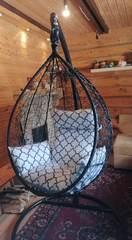 Фото отзыва о товаре Подвесное кресло-кокон SEVILLA ELEGANT горячий шоколад + каркас