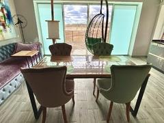 Фото отзыва о товаре Подвесное кресло-кокон LUNA черное + каркас
