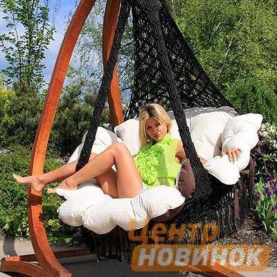 Кресло - гамак CARTAGENA черный фото