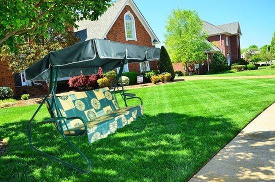 Садовые качели Люкс 2 фото