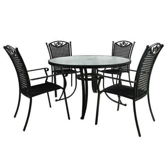 Столовый комплект VERONA (стол и 4 стула) фото