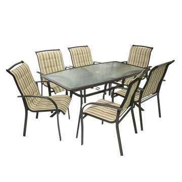 Столовый Комплект BORDO (бежево-коричневый) фото