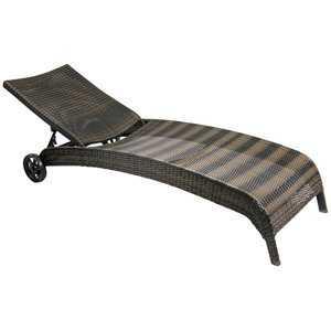 Лежак MONACO темно-коричневый фото