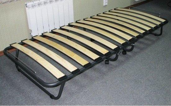 Фото №5 Кровать раскладная с ламелями ВИКТОРИЯ 800