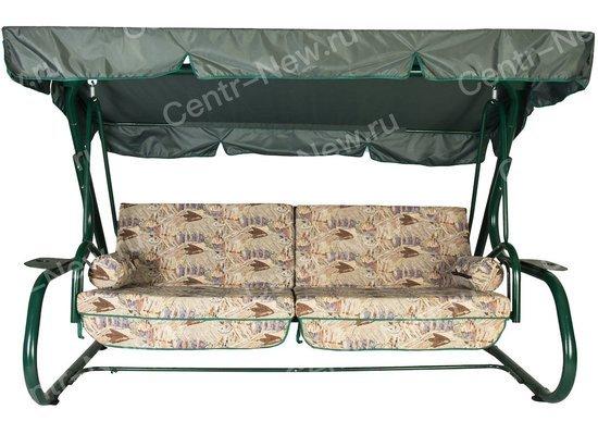 Садовые качели ТИТАН (зеленый) фото