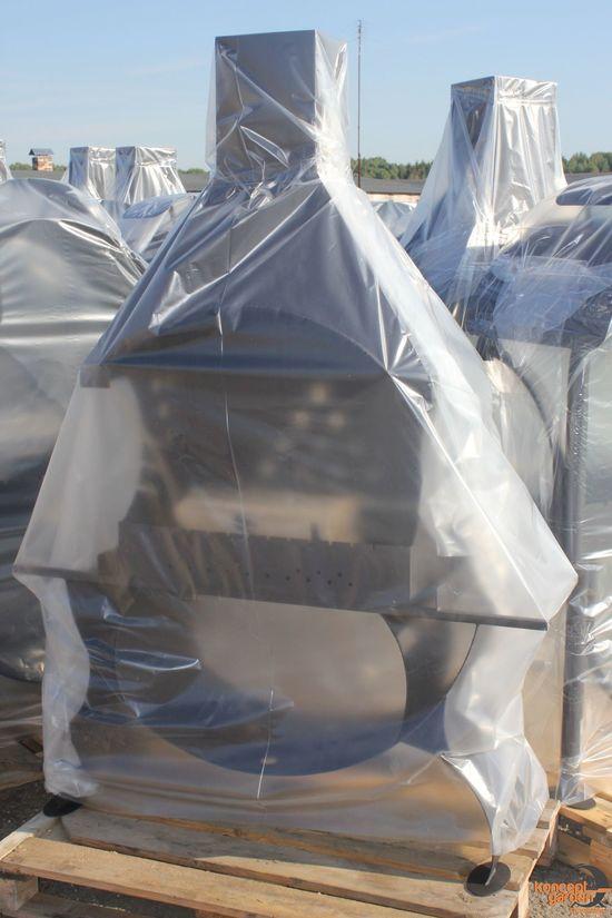 Фото №5 Мангал МС-8 со съемной крышей