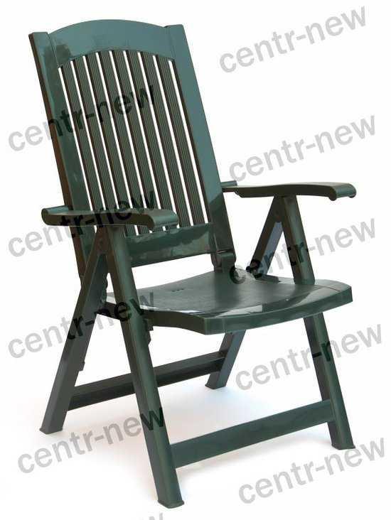 Кресло пластиковое складное фото