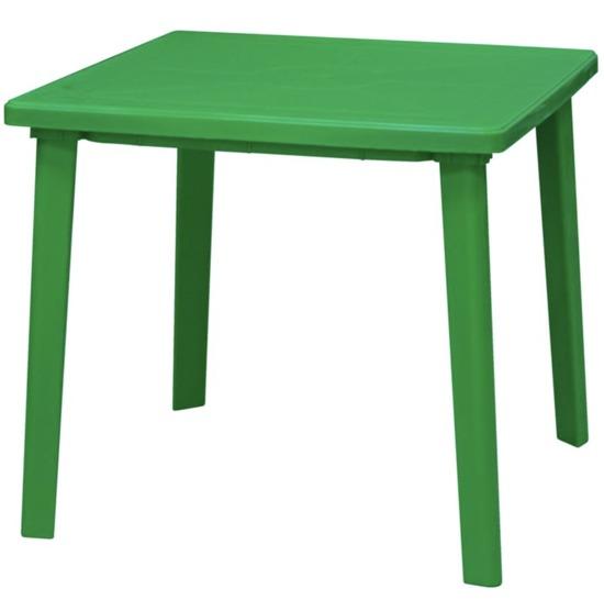 Стол пластиковый квадратный 80х80см фото