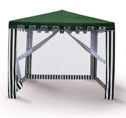 Садовый шатёр 3х3 с москитной WS-G02 фото