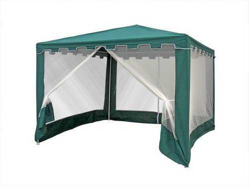 Садовый шатёр 3х3 с москиткой WS-G05 фото