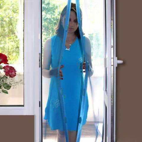 Фото №2 Москитная сетка-шторка на дверь HOME KING