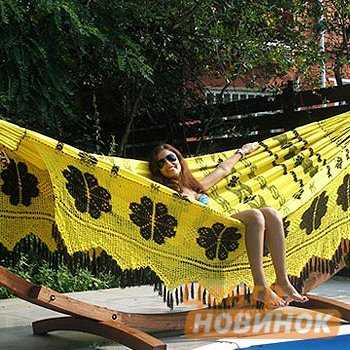 "Гамак ""Sun-Hosinto"" 801A желтый фото"