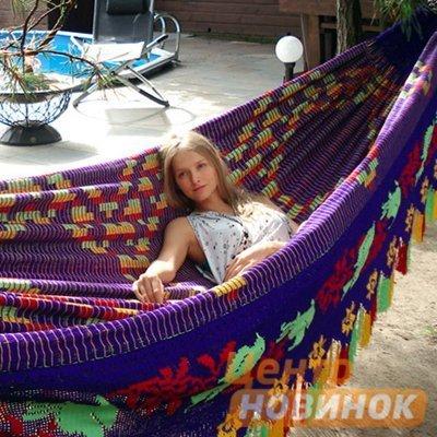 "Гамак ""Сhinchorro"" 852 фиолетово-желтый фото"