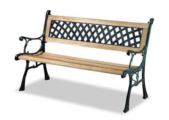Скамейка садовая K001 фото