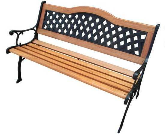 Скамейка садовая K060 фото