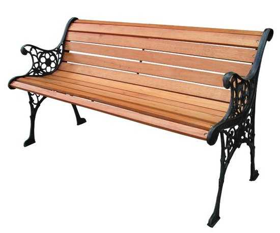 Скамейка садовая K071 фото