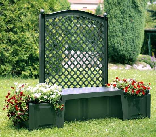 Садовая скамейка «Копенгаген» 43503 фото