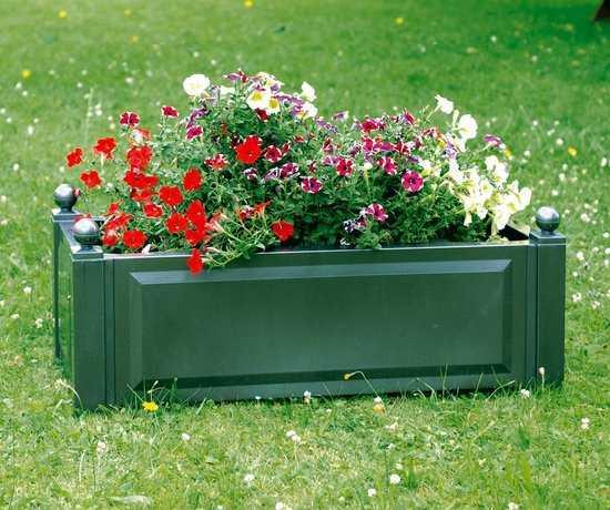 Прямоугольный ящик для растений 38103 фото