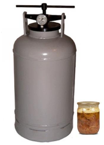 Автоклав (прибор для приготовления тушенки, 20 литров) фото