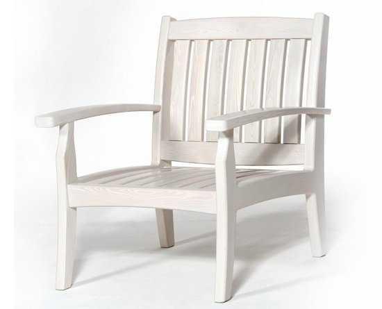"""Кресло """"Аристократ"""" Bianco (белое) фото"""