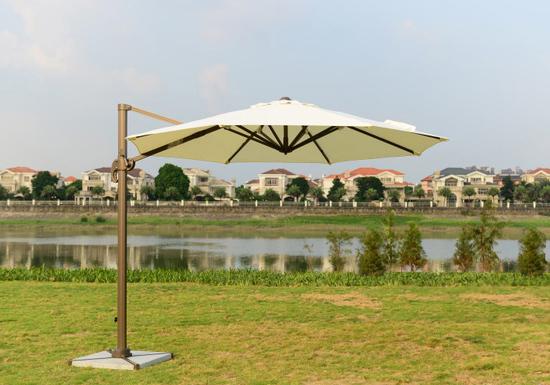 Фото №5 Садовый зонт Garden Way MIAMI Кремовый арт. А002-3000