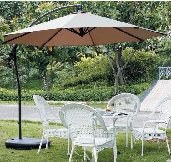 Фото №3 Садовый зонт Garden Way MARSEILLE Бежевый арт. A005