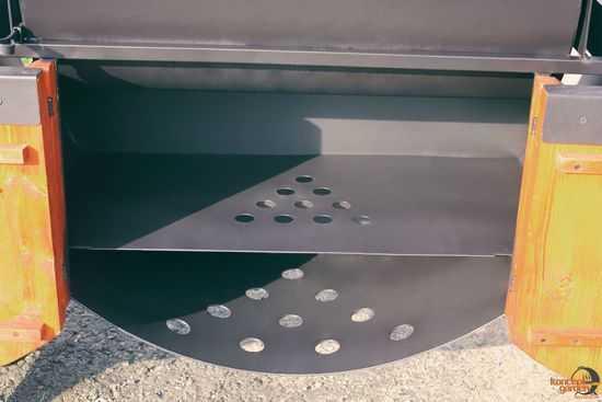 Полка в мангал КМ-3 фото