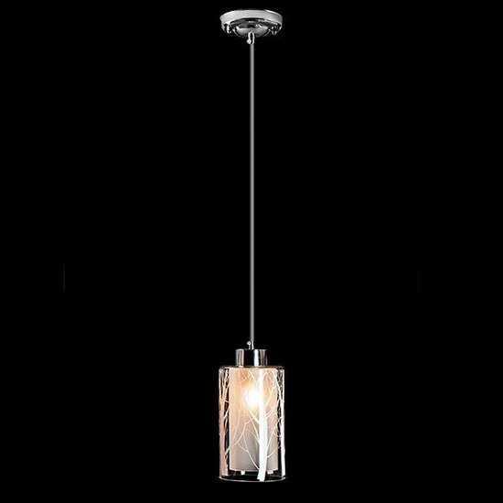 Подвесной светильник 50001/1 хром фото