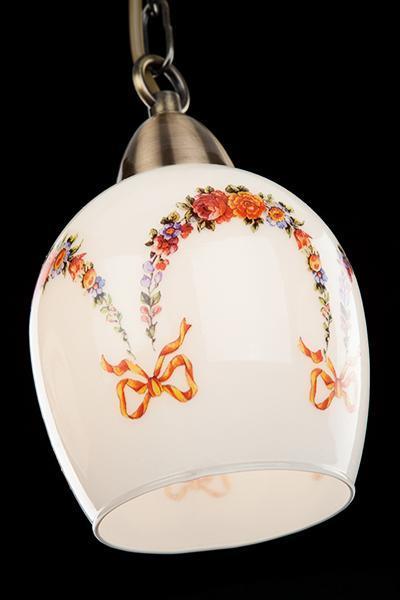 Фото №3 Подвесной светильник 50030/3 античная бронза