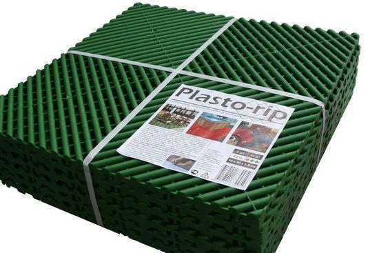 Пластиковая тротуарная плитка Plasto Rip фото