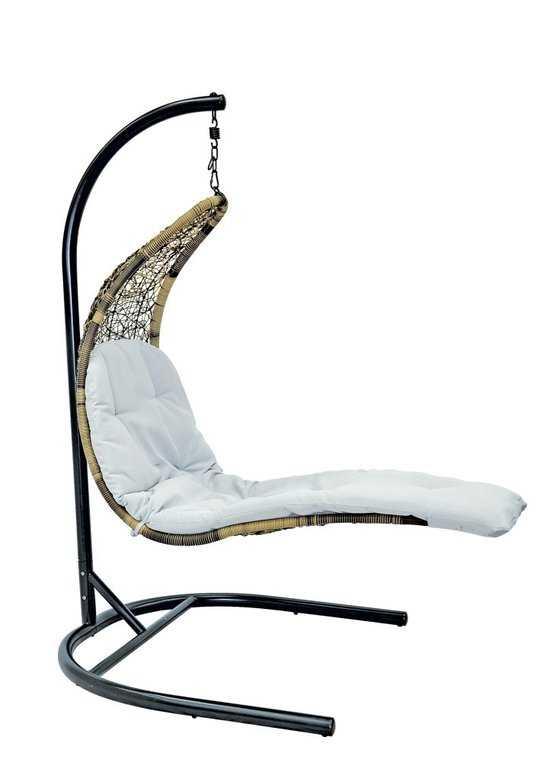 Подвесное кресло-шезлонг Relaxa + каркас фото