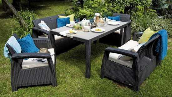 Комплект садовой мебели Corfu Mega Fiesta фото