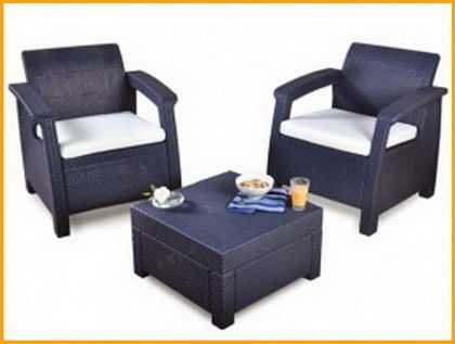 Комплект садовой мебели Corfu Balkon фото