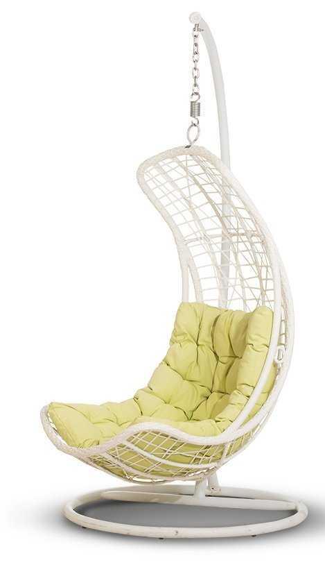 Подвесное кресло ВИШИ из искусственного ротанга фото