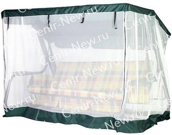 фото Москитная сетка на молнии для садовых качелей