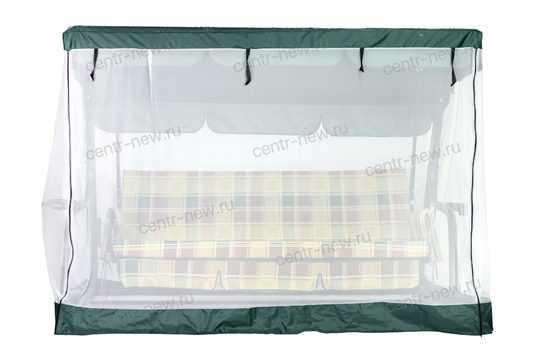 Фото №3 Москитная сетка на молнии для садовых качелей