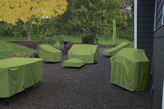 Фото №16 Чехол для комплекта мебели (стол + стулья)