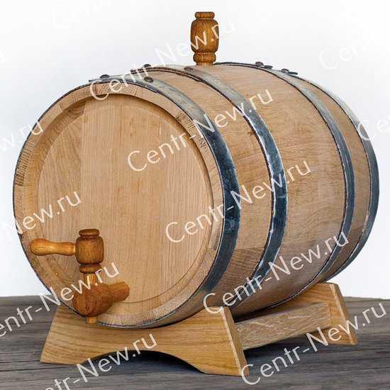 Фото №2 Дубовая бочка 5 литров + кран