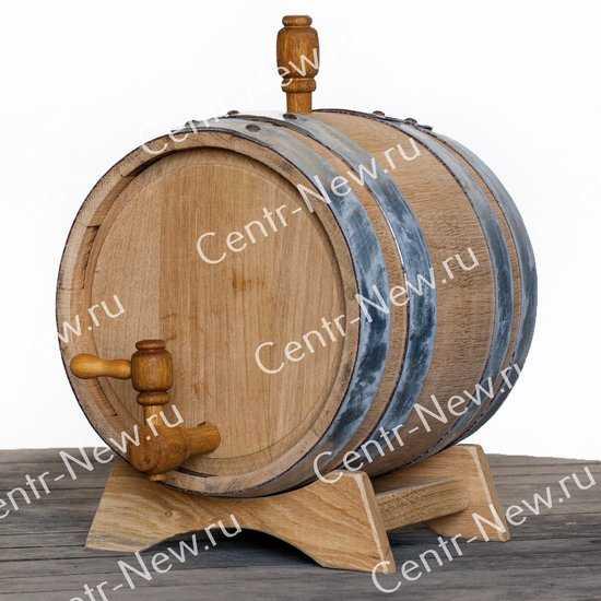 Дубовая бочка 5 литров (Кавказский дуб) фото
