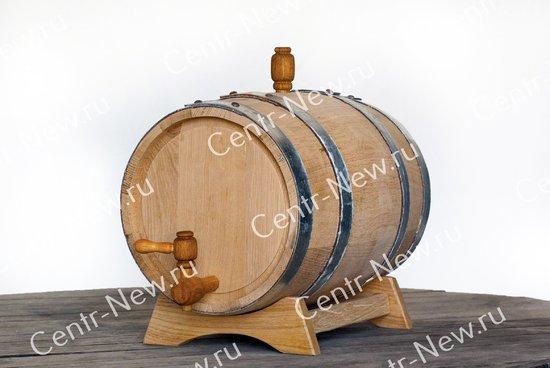 Фото №3 Дубовая бочка 10 литров + кран