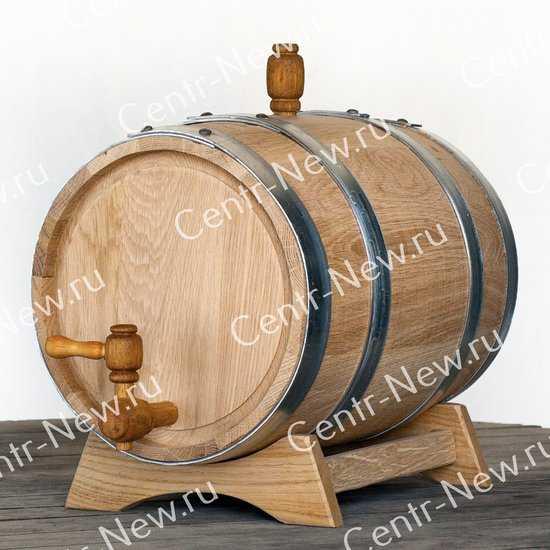 Дубовая бочка 10 литров (Кавказский дуб) фото