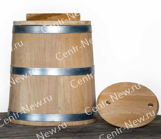 Кадка 15 литров (Кавказский дуб) фото