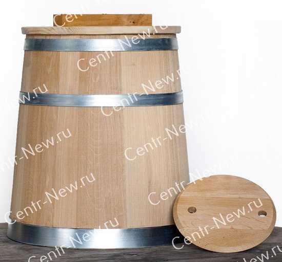 Кадка 50 литров (Кавказский дуб) фото