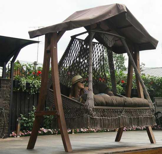 Каркас с крышей КАРАВЕЛЛА для качелей СЕАРА фото
