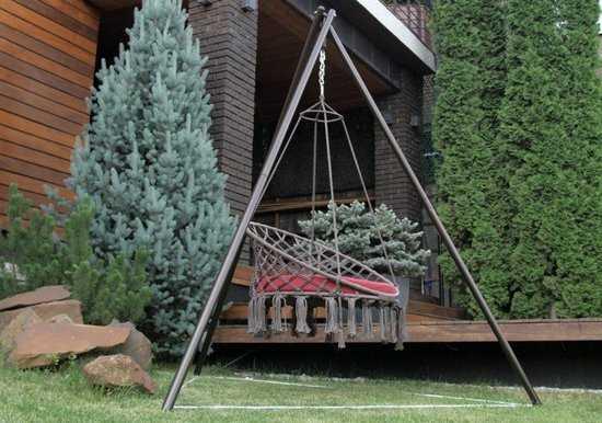 Фото №7 Каркас МАЙЯ (металл) для подвесных кресел