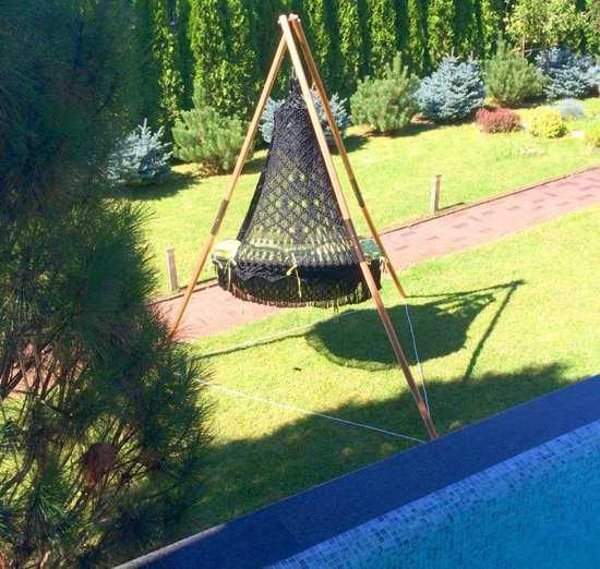 Фото №4 Каркас МАЙЯ (дерево) для подвесных кресел GARTAGENA, ARUBA, комплект МАЙЯ SET
